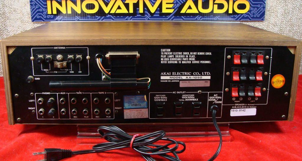 Innovative Audio Akai AA-1050 back – Innovative Audio