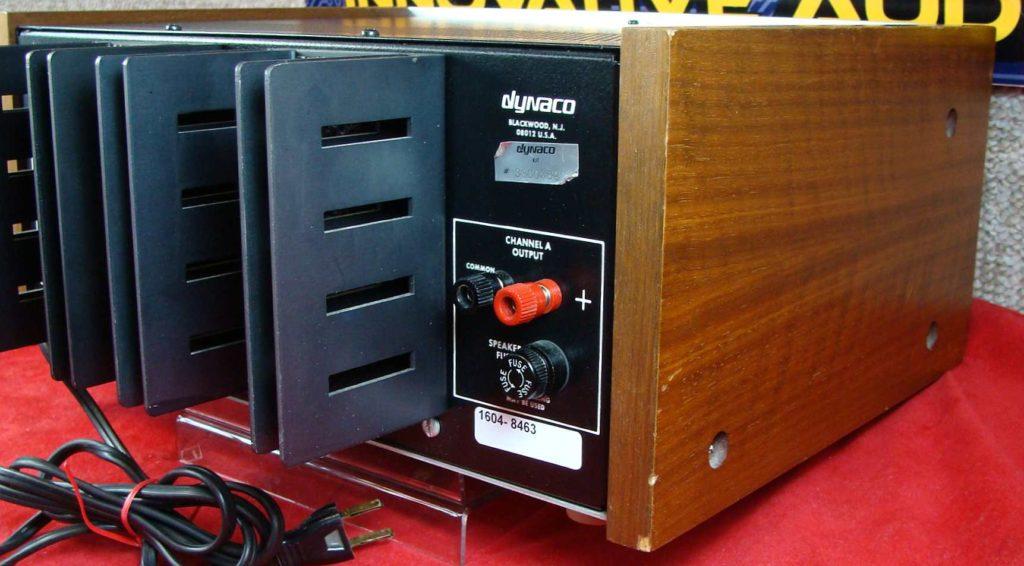 Innovative Audio Dynaco ST 150 back right – Innovative Audio