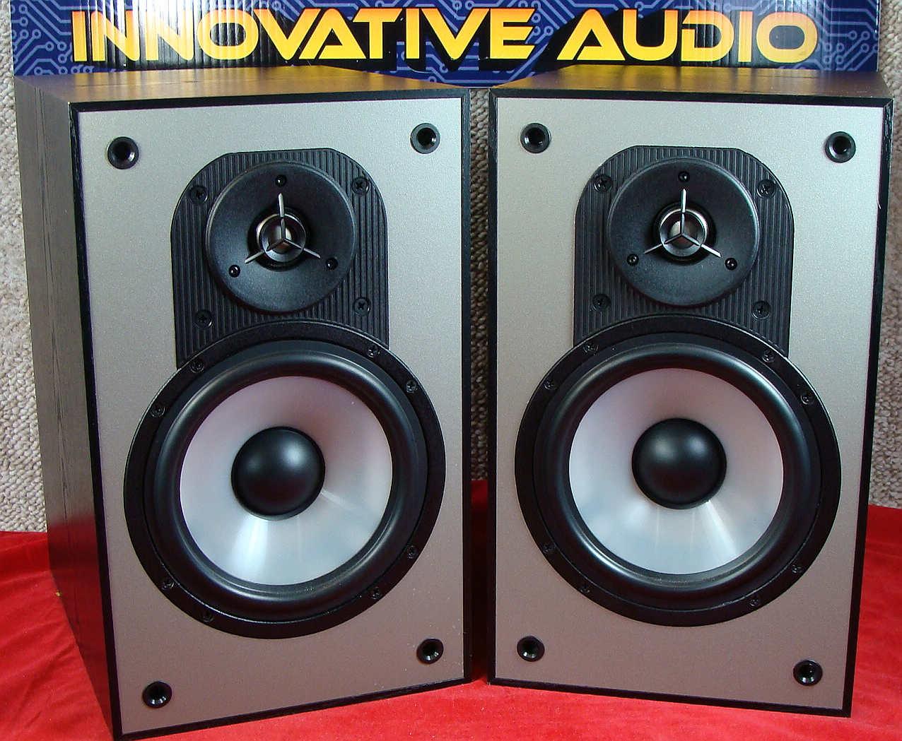 Innovative Audio Paradigm Mini Monitors V2 Front No Grills