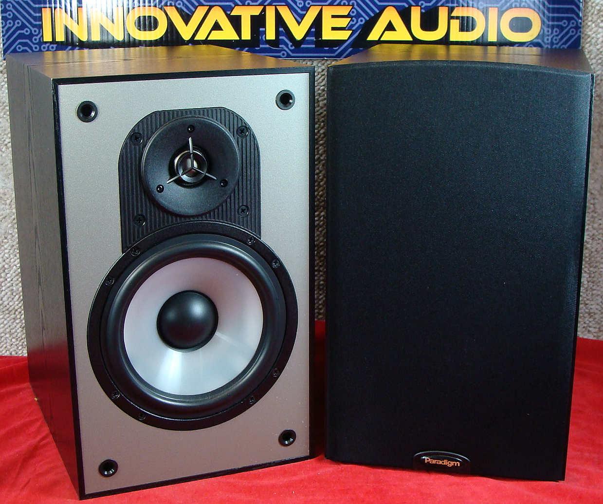 Innovative Audio Paradigm Mini Monitors V2 fronts