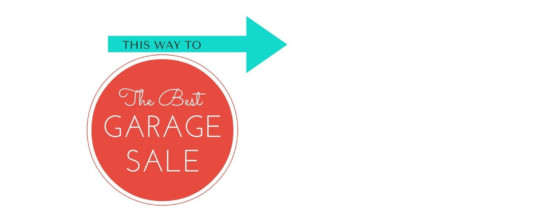 GARAGE SALE – October 26th – Click for more details