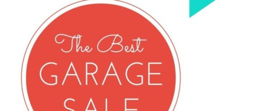 POP-UP GARAGE SALE – June 20th 9:00am – FATHER'S DAY