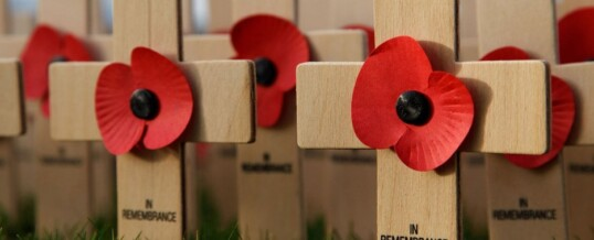 Closed to Observe Remembrance Day